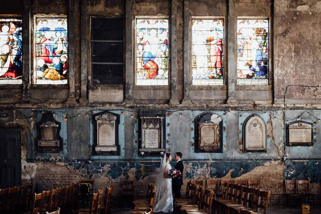 Asylum Chapel wedding ceremony