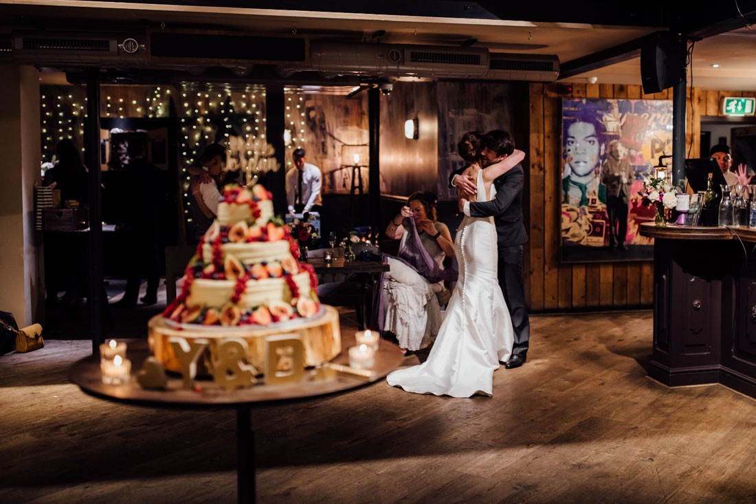 St Barts Brewery london wedding reception